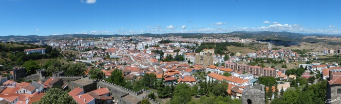 Panoramica_Bragança da Torre de Menagem