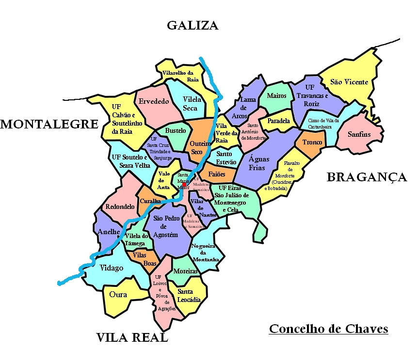 chaves mapa Sobre Chaves | Chaves and around chaves mapa