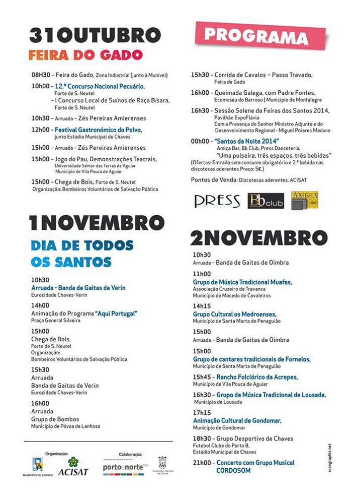 Programme Feira dos Santos_3