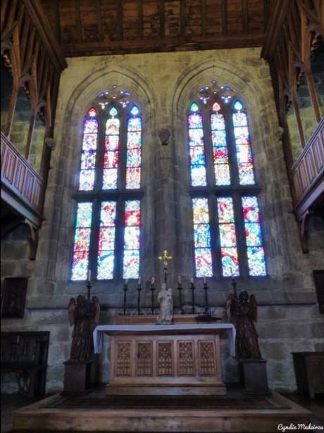 A Capela / Inside the Chapel