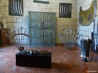 Sala das armas / Weapons room