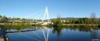 A Ponte Pedonal sobre o Tâmega