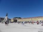 A Praça do Comércio, antiga praça dos Reis de Portugal